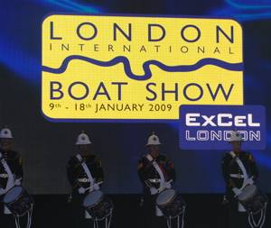 London Boat Show - Busy on the first day