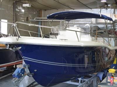New to the market - White Shark 265