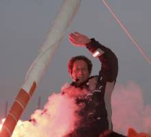Michel Desjoyeaux Wins The 2008-09 Vendee Globe