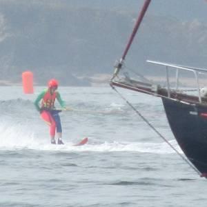 Water ski racing anyone?