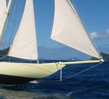 Boatshed BVI wins the Sweethearts of the Caribbean Classic Yacht Regatta