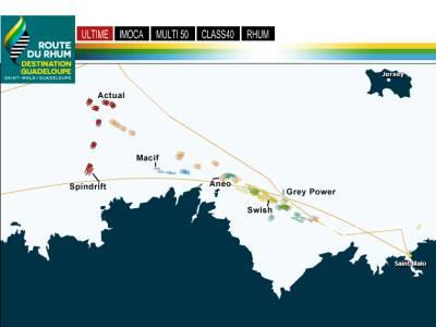Route du Rhum 3,500 miles, destination Guadaloupe