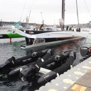 Tough night for Route du Rhum skippers: Collisions, keels falling off & damage. STOP PRESS