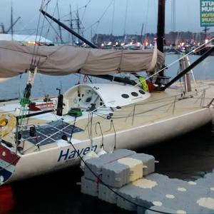Route du Rhum - Boats distance from start, 600 to 60 miles