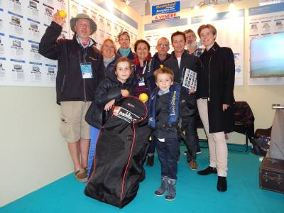 Boatshed St Malo announce Paddleboard winner at Route Du Rhum Event