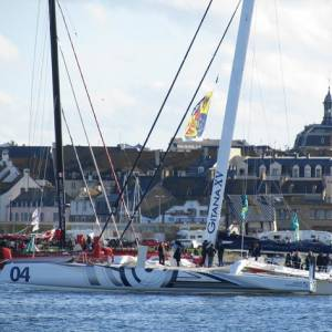Route Du Rhum - Conrad Humphreys dismasted