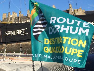 Report on the 'Route Du Rhum' single-handed ocean yacht race