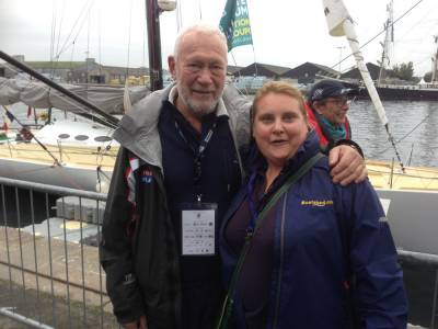 Sir Robin Knox-Johnston receives sailing honour