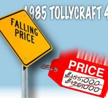 Falling Price on our Brokerage Tolly!