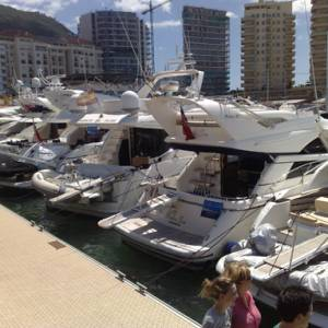 Gibraltar boat show first