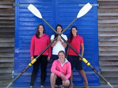 First Female Coxless 4s Attempt to ROW across the Pacific