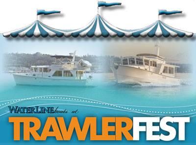 Waterline Boats at PassageMaker's Trawler Fest Anacortes!