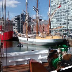 Liverpool hosts the Northern Boat Show at The International Mersey River Festival