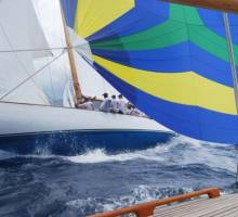 Boatshed BVI tackles Antigua Classic Yacht Regatta