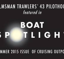 Helmsman 43 Featured in Cruising Outpost