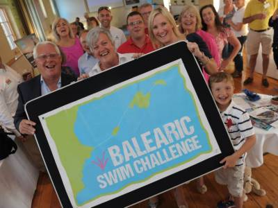 Balearic Swim Challenge at the Explosion Museum of Naval Fire power.