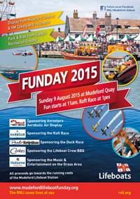 RNLI Mudeford Funday - Sunday 9th August 2015