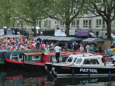 Boatshed Grand Union at Canalway Cavalcade