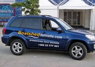 Boatshed Dalmatia meets the Super Green Volksboat at Slovenia's Internautica Boat Show.