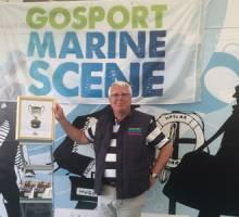 Gosport's youth sailing ambassadors with Gosport Marine Scene