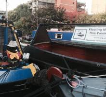 Floating Canal Market Returns to Birmingham