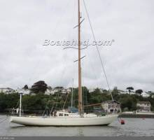 A boat with an interesting history - Classic Laurent Giles Design Channel Class No 28