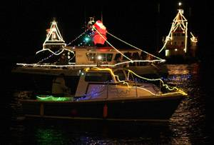 Christmas events near the water