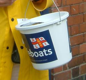 Fund raising for the RNLI