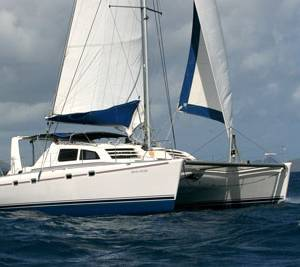 Boatshed BVI, a Leopard 4500 ...and some happy sailors
