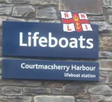 Courtmacsherry Coxswain retires