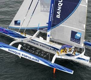 Banque Populaire V Atlantic crossing 3 days 15 hours 25 mins and 48 secs