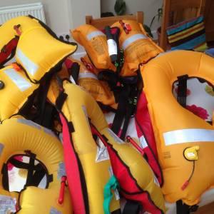 Boatshed Brighton's Annual Lifejacket Maintenance!