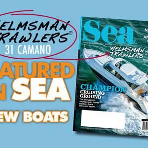 Helmsman Trawlers 31 Camano - Featured in SEA Magazine