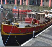 Spotlight on a 65ft Converted Tug Liveaboard
