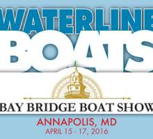 Waterline Boats at Annapolis-Bay Bridge Boat Show!