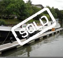 SOLD - Dutch Houseboat 117ft 1906