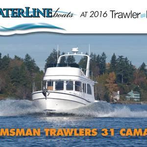 Waterline Boats at 2016 TrawlerFest!