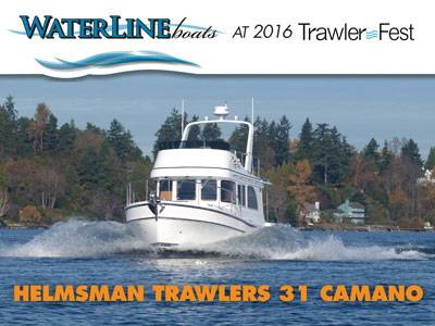 Waterline Boats at 2016 TrawlerFest!