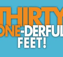 Thirty-One-Derful Feet