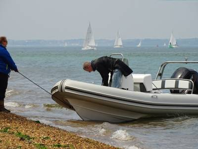 RIB Rally in the Solent