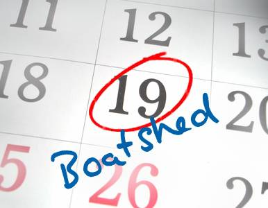 Where to find Boatshed this July