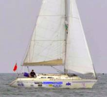Alex Round Britain Challenge - Ahoy from Stornoway