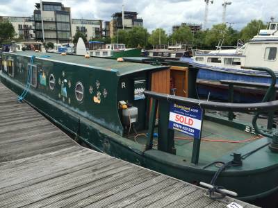 Boatshed London - a hot spot for houseboat buyers