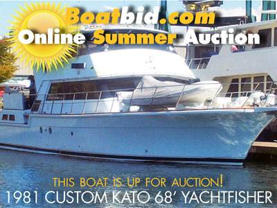 Custom Kato 68 Yachtfisher Up For Auction!
