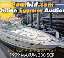 Maxum 330 SCR Up For Auction!
