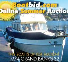 Grand Banks 32 Up For Auction!