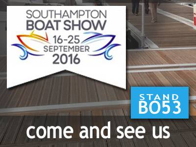 Boatshed at the Southampton Boat Show 2016