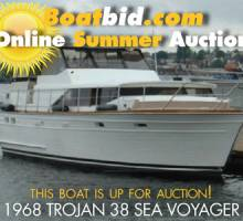 Trojan 38 Sea Voyager Up For Auction!