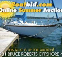 Bruce Roberts Offshore 44 Up For Auction!