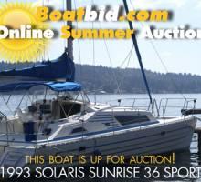 Solaris Sunrise 36 Sport Up For Auction!